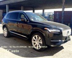 Cần bán Volvo XC90 Inscription năm 2016, màu đen, nhập khẩu giá 3 tỷ 630 tr tại Hà Nội