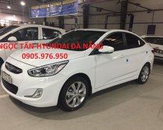 Bán xe Hyundai Accent đời 2012, màu trắng, nhập khẩu CKD, xe Hyundai Accent 2018 - 0905.976.950 giá 495 triệu tại Đà Nẵng