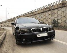 Cần bán BMW 750Li 2005, ĐK lần đầu 2007, màu đen + body kit + chính chủ giá 750 triệu tại Hà Nội