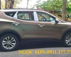 Cần bán xe Hyundai Santa Fe mới đời 2018, màu nâu - LH Ngọc Sơn: 0911.377.773 giá 1 tỷ 50 tr tại Đà Nẵng