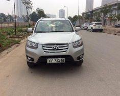 Cần bán xe Hyundai Santa Fe sản xuất 2009, màu bạc, nhập khẩu chính chủ giá 680 triệu tại Hà Nội