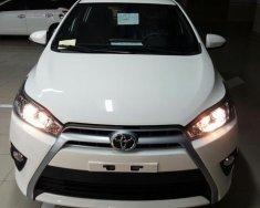 Toyota Yaris 1.5G đời 2017 số tự động CVT màu trắng, xe nhập khẩu Thailand giá 642 triệu tại Tp.HCM