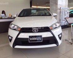 Toyota Yaris 1.5E 2017 số tự động vô cấp, màu trắng, nhập khẩu chính hãng Thailand giá 592 triệu tại Tp.HCM