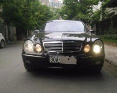 Bán Mercedes E240 đời 2003, màu đen giá 325 triệu tại Hà Nội