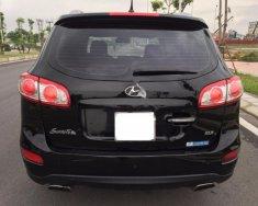 Cần bán lại xe Hyundai Santa Fe SLX eVGT 2011, màu đen, nhập khẩu giá 810 triệu tại Hà Nội