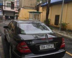 Bán Mercedes E240 2004, màu đen   giá 370 triệu tại Yên Bái
