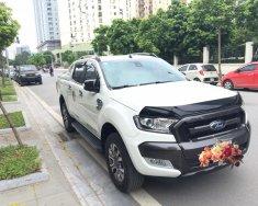 Bán Ford Ranger 3.2L Wildtrak 4x4 AT sản xuất 2016, màu trắng, xe nhập giá 820 triệu tại Hà Nội