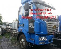 Bán xe tải Faw 7.8 tấn - Faw 7.8 tấn (7t8) thùng dài nhất 9.8m giá 740 triệu tại Tp.HCM