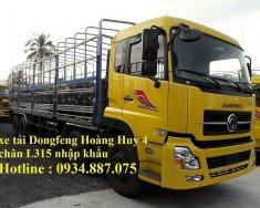 bán xe tải Dongfeng Hoang Huy 4 chân 17.9 tấn - xe tải Dongfeng 4 chân YC310 nhập khẩu giá 1 tỷ 290 tr tại Tp.HCM