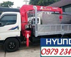 HD99 gắn cẩu UNIC 3 tấn 4 đoạn tải trọng 5,5 tấn giá 612 triệu tại Hà Nội