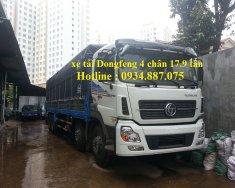 Bán xe tải Dongfeng 4 chân 17.9 tấn – 17T9 – 17T9 - hỗ trợ trả góp toàn quốc giá 1 tỷ 60 tr tại Tp.HCM