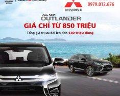 Bán xe Mitsubishi Outlander GLS năm 2018, màu đen, nhập khẩu nguyên chiếc, giá chỉ 807 triệu giá 807 triệu tại Nghệ An