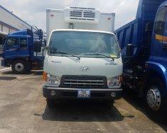 Xe tải Hyundai đông lạnh màu trắng, tải trọng 6 tấn, đời 2017 giá 597 triệu tại Tp.HCM
