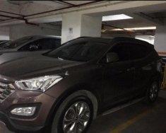 Bán Hyundai Santa Fe 2.4L 4WD đời 2014, màu nâu, xe nhập giá 1 tỷ tại Tp.HCM