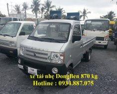 Đại lý bán xe tải nhỏ Dongben 870kg thùng dài 2.5m giá tốt nhất giá 154 triệu tại Tp.HCM