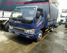 Bán xe tải Jac 5 tấn thùng bạt dài 4m3 chuyên chỏ hàng nặng giá 420 triệu tại Tp.HCM