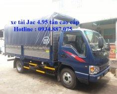 Đại lý bán xe tải JAC 5 tấn - Jac 5 tấn (5t) cao cấp thùng dài 4.35 mét giá 340 triệu tại Tp.HCM