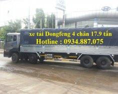 Bán xe tải Dongfeng 4 chân 17.9 tấn - 17T9 động cơ YC310 thùng dài 9.5m giá 1 tỷ 100 tr tại Tp.HCM