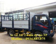 bán xe tải jac 2t4 - Jac 2.4 tấn (2T4) thùng dài 3.75 mét đi vào thành phố giá 290 triệu tại Tp.HCM