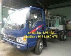 Đại lý bán xe tải Jac 5 tấn - 4T9 - 4.9 tấn thùng dài 4m3, phiên bản cao cấp giá 430 triệu tại Tp.HCM