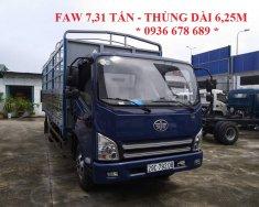 Bán xe tải mui bạt Faw 7,31 tấn thùng dài 6,25m. Giá tốt nhất thị trường giá 415 triệu tại Hà Nội
