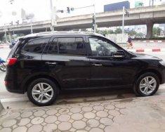 Bán Hyundai Santa Fe SLX eVGT đời 2010, màu đen giá 658 triệu tại Hà Nội