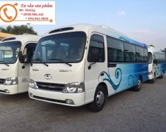 Giá xe khách Hyundai 29 chỗ, Hyundai County HB73S dài 7.3 m - Hoàng 094.961.9836, hỗ trợ trả góp 80% giá trị xe giá 1 tỷ 99 tr tại Hà Nội