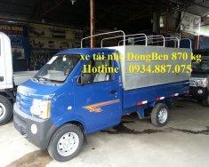 Bán xe tải Dongben 810kg thùng 2m5 - xe dongben 870kg thùng bạt, thùng kín giao ngay giá 154 triệu tại Tp.HCM