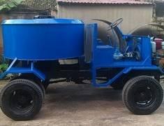 Xe máy trộn bê tông tự hành 6 bao 9 bao 1 cầu 2 cầu lốp mới 100 giá 70 triệu tại Hà Nội