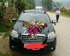 Bán Daewoo Gentra 2010, màu đen, giá 235tr giá 235 triệu tại Tuyên Quang