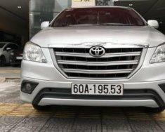 Cần bán xe Toyota Innova 2.0E năm 2015, màu bạc như mới giá Giá thỏa thuận tại Đà Nẵng