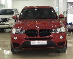 Cần bán xe BMW X3 xDrive 20i năm 2016, màu đỏ, nhập khẩu nguyên chiếc giá 1 tỷ 730 tr tại Hà Nội