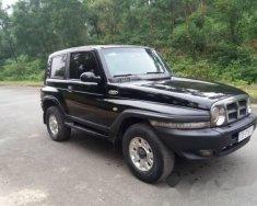 Bán Ssangyong Korando TX5 đời 2005, màu đen  giá 185 triệu tại Hà Tĩnh