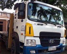 Xe cẩu cũ Hyundai Hd320 4 chân cần sosan 7T5 đời 2012 giá 1 tỷ 850 tr tại Tp.HCM