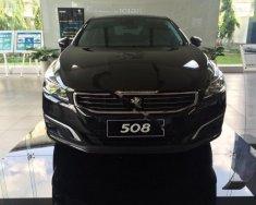 Bán xe Peugeot 508 1.6 AT đời 2015, màu đen, xe nhập giá 1 tỷ 379 tr tại Cần Thơ