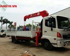 Xe tải Hino 6,4 tấn - FC gắn cẩu unic 5 tấn 4 khúc giá 795 triệu tại Tp.HCM