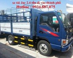Mua xe tải 2.4 tấn - 2t4 - 2.4 tân Jac cao cấp cn Isuzu đi vào thành phố giá 292 triệu tại Tp.HCM