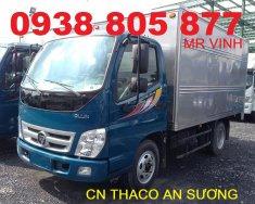 Thaco Ollin 345 2,4 tấn xe tải Ollin 2,4 tấn Ollin 345 chạy trong thành phố giá 210 triệu tại Tp.HCM