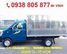 Xe tải nhẹ Thaco Towner 990kg thùng mui bạt, thùng kín, thùng lửng cho phép chở 1 Tấn giá tốt giá 210 triệu tại Tp.HCM