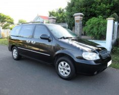 Bán ô tô Kia Carnival GS 2.5 MT đời 2007, màu đen ít sử dụng giá 228 triệu tại BR-Vũng Tàu