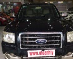 Cần bán lại xe Ford Everest MT đời 2007, màu đen, giá tốt giá 385 triệu tại Phú Thọ