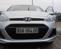 Bán xe Hyundai Grand i10 đời 2015, màu bạc, 259tr giá 259 triệu tại Hà Nội