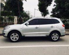 Bán xe Hyundai Santa Fe SLX EVGT đời 2009, màu bạc, nhập khẩu giá 670 triệu tại Hà Nội