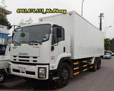 Bán xe tải Isuzu 15T 3 chân, giao ngay, hỗ trợ vay vốn 90% giá 1 tỷ 530 tr tại Tp.HCM