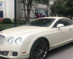 Cần bán Bentley Continental 6.0 AT đời 2008, màu trắng, nhập khẩu nguyên chiếc chính chủ giá 2 tỷ 600 tr tại Hà Nội