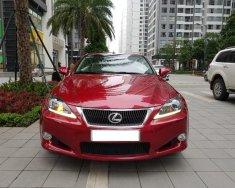 Bán Lexus IS 250C sản xuất 2011, màu đỏ giá 1 tỷ 480 tr tại Hà Nội