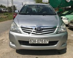Bán Toyota Innova 2.0 G đời 2010, màu bạc   giá 375 triệu tại Cần Thơ