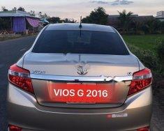 Bán Toyota Vios đời 2016, màu vàng cát giá 535 triệu tại Hậu Giang