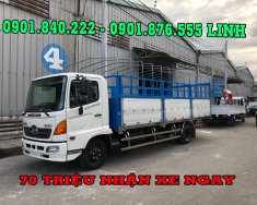 Bán xe Hino 6 tấn - Giá xe Hino 6 tấn FC9JJSW - Bán xe Hino 6 tấn có hỗ trợ vay 90% giá 750 triệu tại Bình Dương