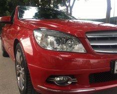 Cần bán xe Mercedes C200 màu đỏ, xe đời 2010 lăn bánh lần đầu 2011 giá 575 triệu tại Hà Nội